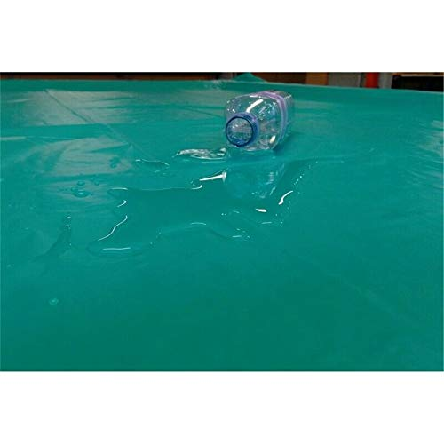 cueball16 Heavy Gauge Soft Vinyl Waterproof 8 BALL Green Cover For 7ft English Pool Tables