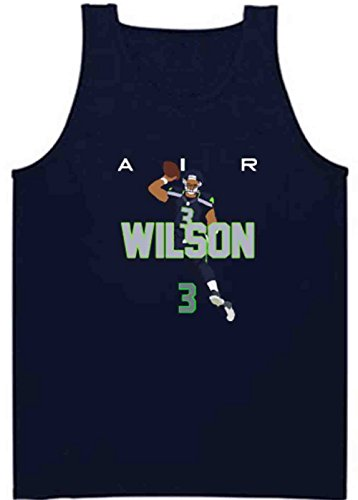 Shedd Shirts Navy Seattle Wilson AIR PIC Tank TOP Adult