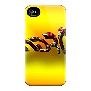 Cynthaskey Iphone 4/4s Hybrid PC Case Cover Silicon Bumper Android