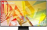 SAMSUNG 55-inch Class QLED Q90T Series - 4K UHD Direct Full Array 16X Quantum HDR 12X Smart TV with Alexa Buil