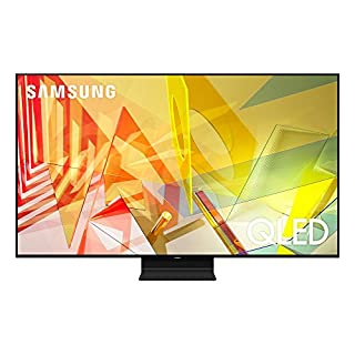 SAMSUNG 65-inch Class QLED Q90T Series - 4K UHD Direct Full Array 16X Quantum HDR 16X Smart TV with Alexa Built-in (QN65Q90TAFXZA, 2020 Model)