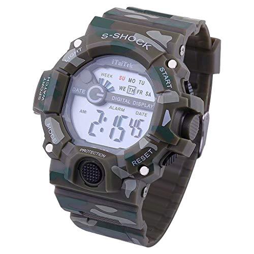 1911 Ladies Wrist Watch - Sports Watch, Smart Watch,Watch Children,Watch Boys,Multi Function Waterproof Double Digital Quartz Sports Wrist Watch