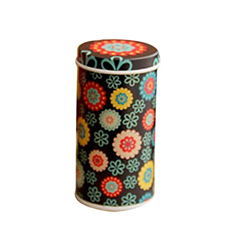 Gaosaili Mini Meta Trinket Tin Jewelry Iron Pill Tea Coin Storage Round Box Case (Decorative Mini Containers compare prices)