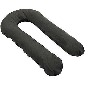 Amazon Com Moonlight Slumber Comfort U Body Pillow Grey