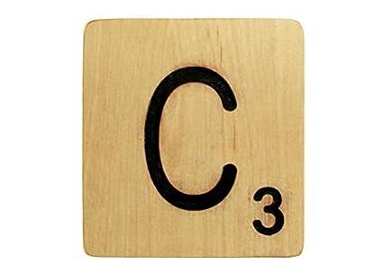 Amazon.com: Large 5 Inch Scrabble Tile - C: Home & Kitchen
