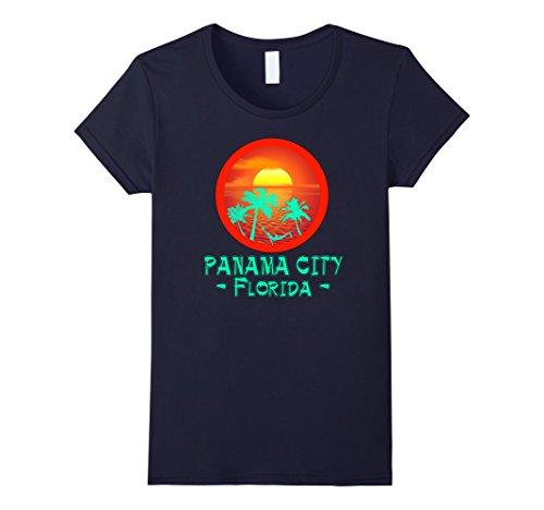 Women's PANAMA CITY FLORIDA TROPICAL DESTINATION BEACH GIFT T-SHIRT XL - City Women Panama