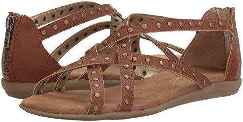 Aerosoles Women's Chlosing Time Sandal,Dark Tan Combo,11 M US