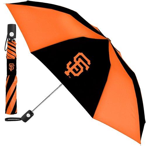 Giants Umbrella - McArthur Sports- MLB Auto Fold Umbrella,San Francisco Giants,42