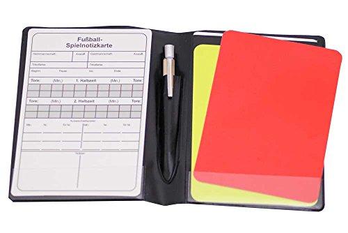 Cawila Schiedsrichter Wallet Set ink. Füllung, Brieftasche für Schiedsrichter, 00724810
