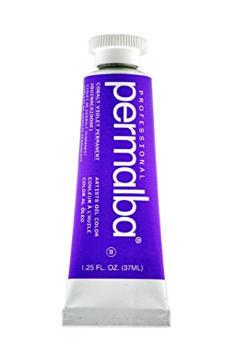 - Permalba 37-Ml Artist Oil Color, Cobalt Violet Permanent