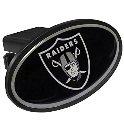NFL Oakland Raiders Plastic Logo Hitch Cover, Class III: Sports & Outdoors