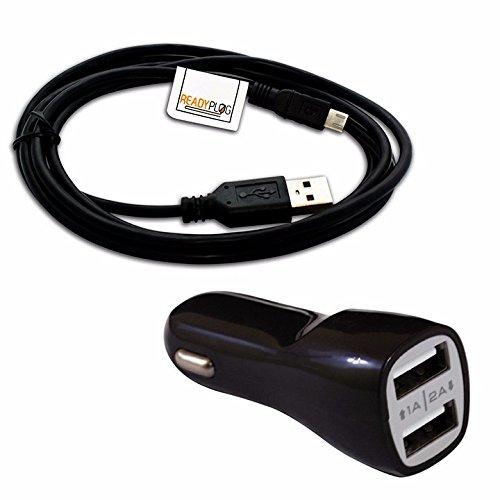 readyplug Cable USB para: Soundpeats magnético Q12 bluetooth sincronización de datos/cargador de/ordenador/auriculares/adaptador/Retráctil/cargador de coche ...