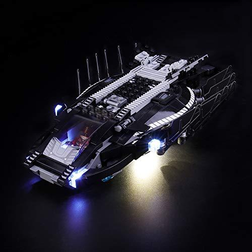 Juego de luces LIGHTAILING para bloques de construcción (Marvel Super Heroes Royal Talon Fighter Attack) - Kit de luces LED Compatible con Lego 76100 (NO incluido el modelo)