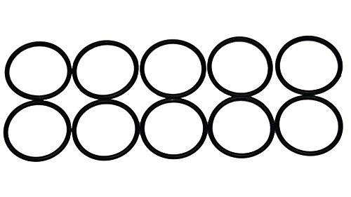 Sterling Seal ORVT020x10 Viton Number-020 Standard O-Ring, Fluoropolymer Elastomer, 70 Durometer Hardness, 7/8