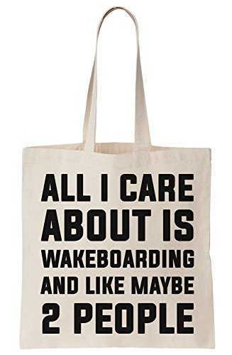 Like And Care Bag All Maybe Wakeboarding Is I Tote Canvas About People 2 xCRxYq6w