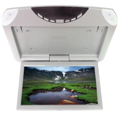 color gris Monitor de techo USB, SD, altavoces integrados KDX Audio KIN035450