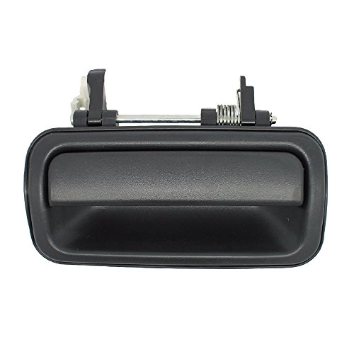 Outside Door Handle - Rear Right Passenger Exterior - smooth Black