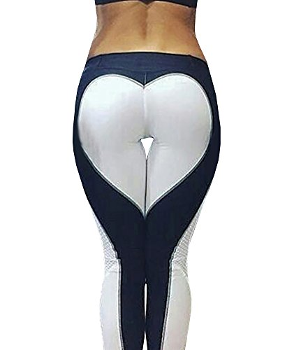 Nulibenna Womens Heart Fitness Leggings product image