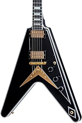 Flying V Custom Ebony #CS702832: Amazon.es: Instrumentos musicales