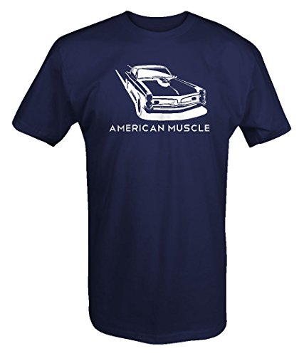 One Stop Gear American Muscle Pontiac GTO Racing Muscle Car Sexy Goat T Shirt - 2XL