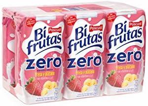 Bifrutas Fresa Plátano Prisma - Pack de 6 x 20 cl - Total: 120 cl ...