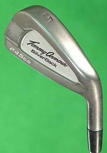 Tommy Armour 845CS Silverback Iron Set 4-PW SW Stock Steel Shaft Steel Regular Right Handed 37.5 in ()