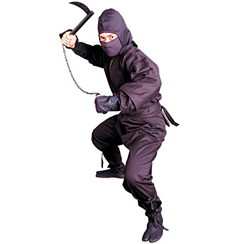 Tiger Claw Black Ninja Uniform Ninja Suit Size XL -