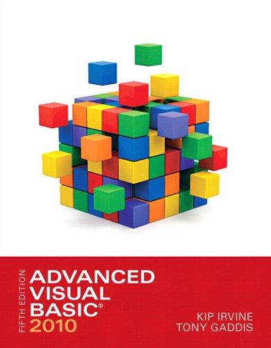 Advanced Visual Basic 2010 (5th Edition) Pdf