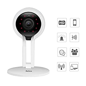 ViewFocus Home Camera, 720P WiFi Wireless IP Security Surveillance Camera with Motion Detection, Night Vision for Baby Elder/ Pet/Nanny Monitor