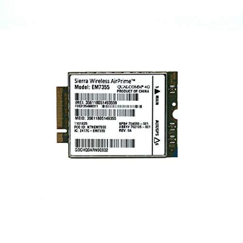 Dell EM7355 Sierra GOBI5000 3G/4G LTE Module NGFF For DELL Venue11 Pro 7130  Wwan Card 2NDHX (Unlocked)