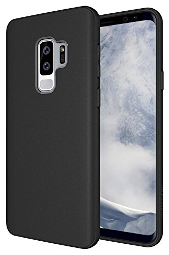 Galaxy S9 Plus Case, Diztronic Full Matte TPU Series - Slim-Fit Thin & Flexible Phone Case for Samsung Galaxy S9 Plus - (Matte Black)