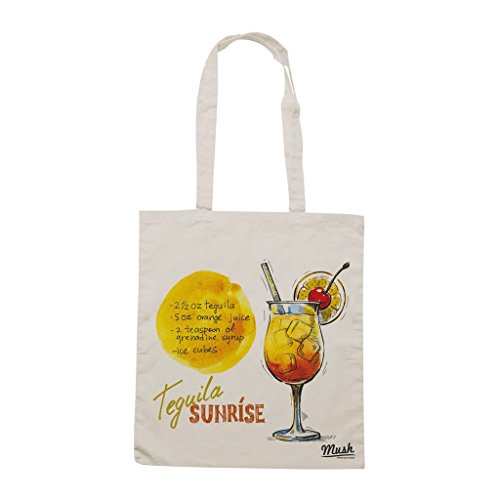Borsa Tequila Sunrise Mexican Drink - Panna - Famosi by Mush Dress Your Style