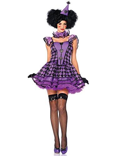Pretty Parisian Clown Adult Costume - Small/Medium - Pretty Parisian Clown Adult Costumes