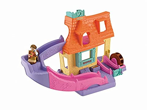 Fisher-Price Little People Belle's Klip Klop Cottage (Belle And The Beast Little People)