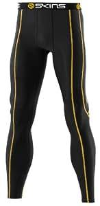 SKINS Men's Bio Sport Long Tights ,Black, Medium