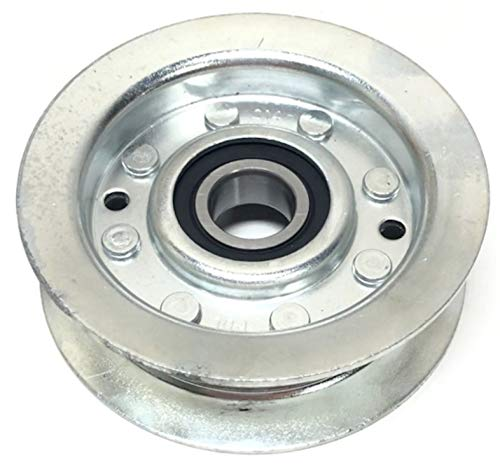 Flat Idler Pulley Replaces John Deere, Scotts, Sabre for sale  Delivered anywhere in USA