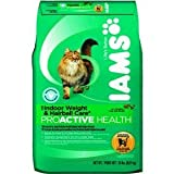 Iams Proactive Health Adult Cat indoor Weight and Hairball Care Formula, 20-Pound Bags, My Pet Supplies