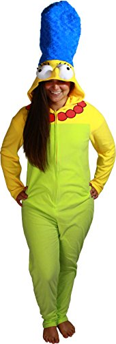 Briefly Stated Women's The Simpsons Marge Union Suit, Green, Small]()