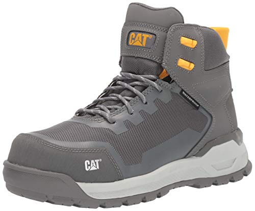 Caterpillar Women's Propulsion Waterproof CT Construction Boot Medium Charcoal 5.5 W US (Color: Medium Charcoal, Tamaño: 5.5 Wide)