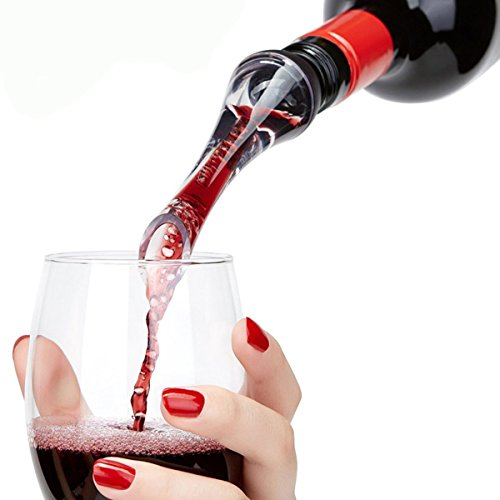 FILWN-Wine-Aerator-Pourer-Premium-Aerating-Pourer-and-Decanter-SpoutBlackFDA-approved-Materials-Perfect-Wine-Gift-for-Wine-Lovers-with-Gift-Box