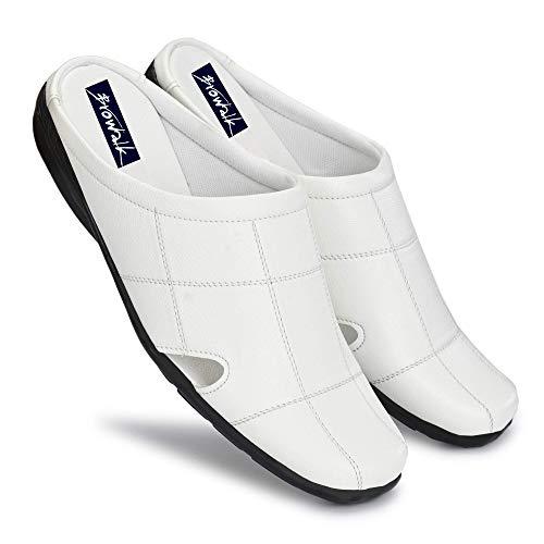 Browalk Men's Synthetic Leather Comfort Half Shoe