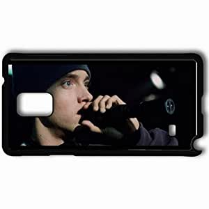 Personalized Samsung Note 4 Cell phone Case/Cover Skin 8 Mile Black WANGJING JINDA