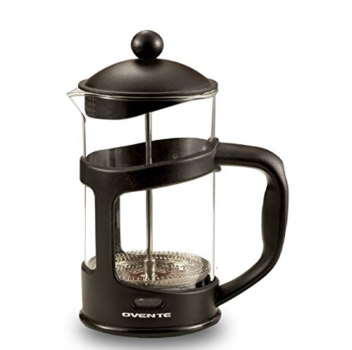 Ovente 27oz French Press Coffee Maker, Great for - 3 Cup French Press Coffee Maker