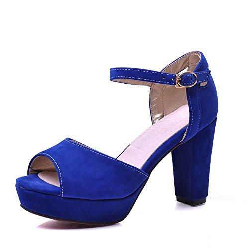 37 Bleu Pour MJS00379 Inconnu 1To9 EU Femme Sandales qFEqvXIw