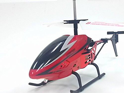 TOPFLY/トップフライⅢ◇LEDが光る!2ch赤外線式ラジコンヘリコプター/レッド