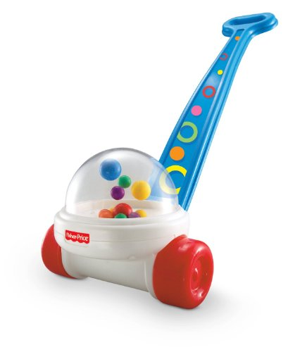 Fisher Price Toddler Pull Toy - Fisher-Price Brilliant Basics Corn Popper