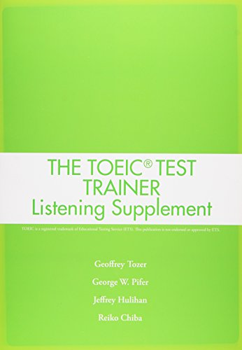 TOEIC Test Trainer Listening Supplement Student Book (48 pp) with Audio CD