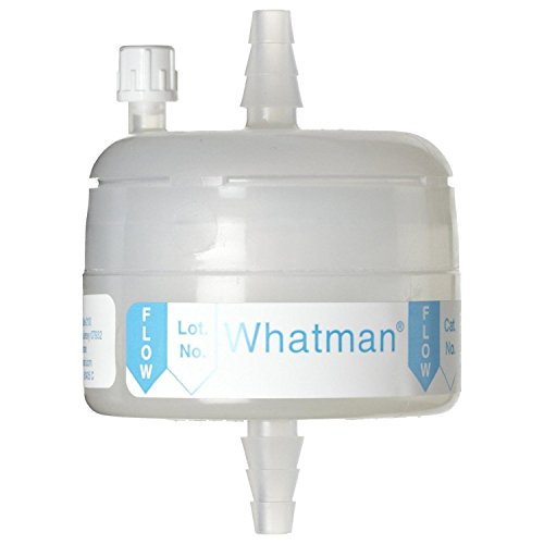 Whatman 6718-9582 Polycap TC 150 Polyethersulfone Membrane Capsule Filter with 1/2'' SB Inlet and Outlet Plus Filling Bell, 60 psi Maximum Pressure, 0.8/0.2 Micron by Whatman