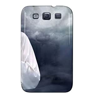 Slim Fit Protector For Galaxy S3 Protective Hard Case Black 0DnGEdFNP