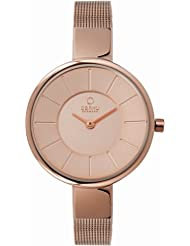 OBAKU V149LXVVMV Women's Gold Dial Classic Analog Watch with 2 Hands